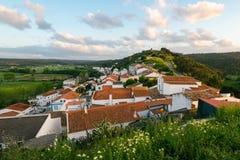 Aljezur,阿尔加威,葡萄牙 库存图片