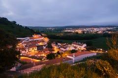 Aljezur,阿尔加威,葡萄牙 图库摄影