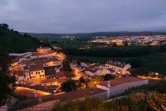 Aljezur,阿尔加威,葡萄牙 免版税库存图片