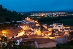 Aljezur,阿尔加威,葡萄牙 免版税库存照片