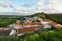 Aljezur, Алгарве, Португалия Стоковое Изображение