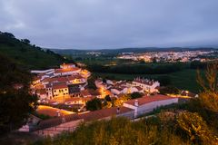 Aljezur, Алгарве, Португалия Стоковая Фотография