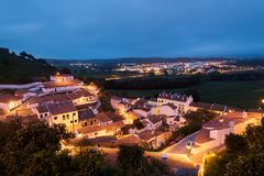 Aljezur, Алгарве, Португалия Стоковые Изображения RF