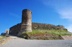 Aljezur castle Royalty Free Stock Photography