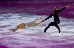 Aljona Savchenko und Robin Szolkowy Lizenzfreies Stockbild