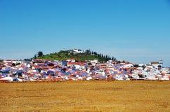 Aljustrel, city at alentejo region Royalty Free Stock Photography