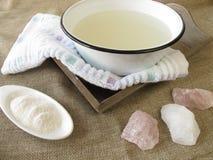 Alkaline bath Stock Photos