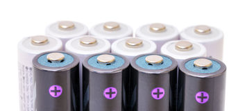 Alkaline Batteries Royalty Free Stock Photo