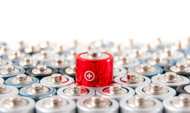 Alkaline batteries AAA Stock Image