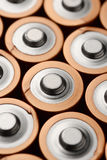 Alkaline batteries group Stock Images
