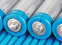 Alkaline battery Stock Photography