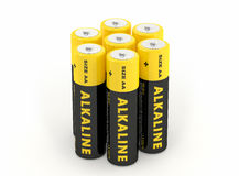 Alkaline Battery -  on white Royalty Free Stock Photos