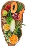 Alkaline Food Selection stock photos