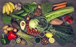 Alkaline foods Stock Images