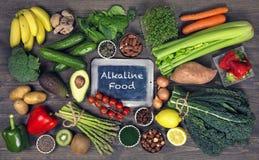Alkaline foods stock photos