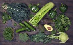 Alkaline foods Stock Photography