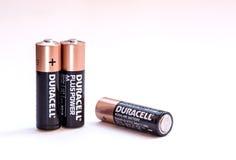 Alkaline high power batteries Stock Photography