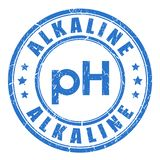Alkaline ph balance royalty free stock photos
