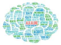 Alkaline Word Cloud Stock Photos