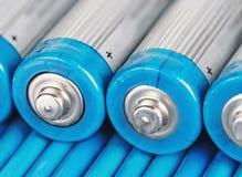 Alkalische Batterie Stockfotografie