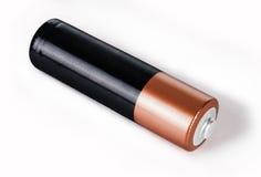 Alkalische Kadmiumchemikalie drei der Batterie AA Stockfotografie
