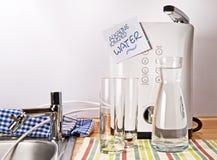 Alkaliskt joniserat vatten royaltyfri bild