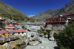 Alkananda River At Badrinath Royalty Free Stock Image