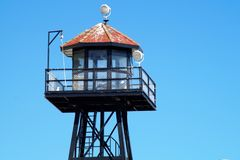 Alkatraz-Wachturm stockfotografie