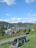 Alken, vale de Mosel, Rhineland-palatinado, Alemanha Fotos de Stock
