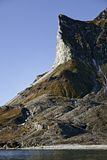 Alkhornet mountain, Svalbard, Norway Royalty Free Stock Photography