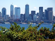 Alki Beach Stock Image
