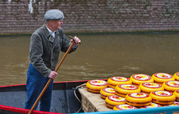 Alkmaar on a Cheese Market Day Stock Photo