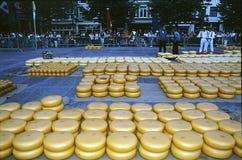 ALKMAAR CHEESE MARKET NETHERLANDS Stock Photo