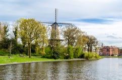 Alkmaar Nederländerna Arkivfoto