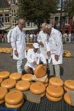 Alkmaar, Netherlands - July 20, 2018: Group of inspectors testin Stock Photography