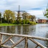 Alkmaar, the Netherlands. Urban landscape in Alkmaar, the Netherlands stock photography