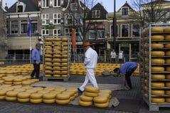 Alkmaar sera rynek Zdjęcia Royalty Free