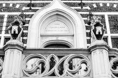 Alkmaar urzędu miasta architektoniczny szczegół zdjęcia royalty free