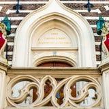 Alkmaar urzędu miasta architektoniczny szczegół obraz stock