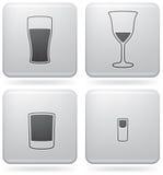 alkoholów szkła ilustracja wektor