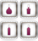 alkoholów szkła royalty ilustracja