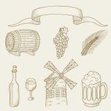 Alkohol royalty ilustracja