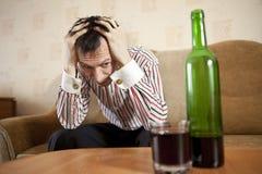 Alkohol. royaltyfri foto