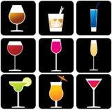 alkohol stock illustrationer