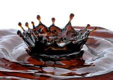 Alkohol cola, te, kaffevätskekrona som är dekorativ illustration 3d royaltyfri illustrationer