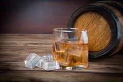 Alkohol in großem Lizenzfreies Stockbild