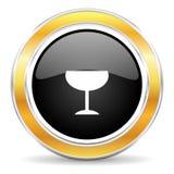 alkohol ikona Obraz Royalty Free