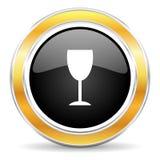 alkohol ikona Zdjęcie Royalty Free