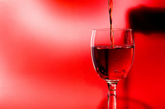 Alkohol im Glas Lizenzfreie Stockfotografie