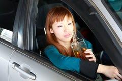 Alkohol im Strassenverkehr Stockfotografie